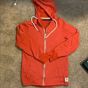 Under Armour project rock zip up size small